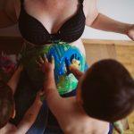 Fotografin Babybauch Speyer, Familien Fotos draußen