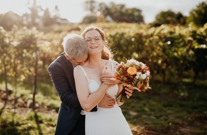 Hochzeitsfotograf Pfalz, freie Trauung Sonnenberg, Weinstube Brennofen
