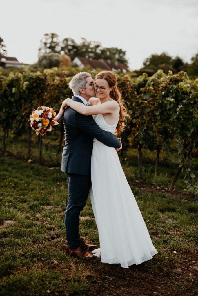 Brautpaar Shooting, Hochzeitsfotograf Pfalz, Herbsthochzeit